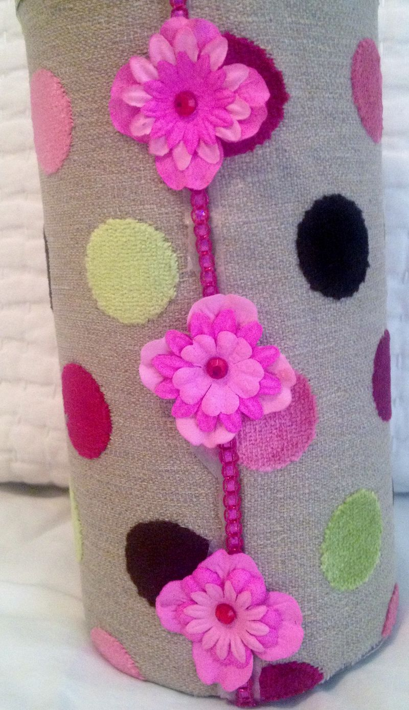 how to make a headband holder out of ribbon