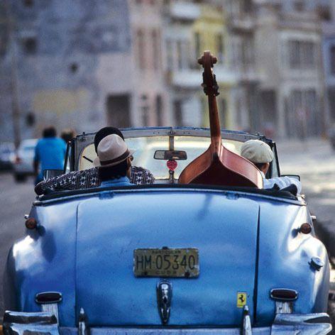 Traveling blue